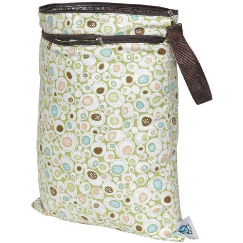 Planet Wise Wet/Dry Diaper Bag, River Rock Color: River Rock (Baby/Babe/Infant - Little ones)