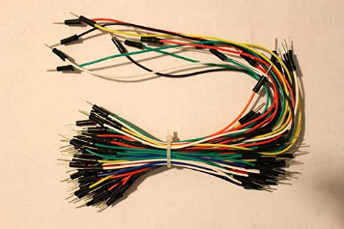 Breadboard Jumper Wires 75-wires M/M for Arduino and electronics hobby projects - 1