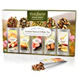 Tea Forte Single Steeps Loose Tea Sampler - Garden Harvest Whites