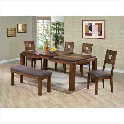Buy Low Price Lifestyle California Altamonte Dining Table in Walnut (22-727)
