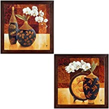RAY DÉCOR'S Set Of 2 Framed Painting (Fibre, 70 Cm X 4 Cm X 35 Cm, Set Of 2, Textured UV Prints)- Wall Decor/...
