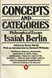 Concepts and Categories (0140058052) by Berlin, Isaiah