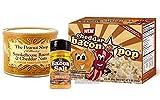 Bacon & Cheddar Cheese Flavor Sampler Pack (3 pc Set) - Bacon & Cheddar Peanuts, Cheddar BaconPop Popcorn & Cheddar Bacon Salt