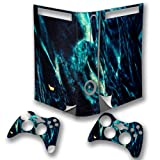 Abstract 10119, Snuggle Edition, Sticker for XBOX 360 Fat Game Console.