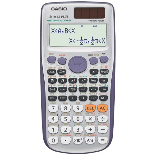 Casio fx-115ES PLUS Engineering/Scientific Calculator (Advanced Inequalities compare prices)