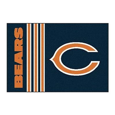 """Fanmats NFL - Chicago Bears Uniform Inspired Starter Rug 20""""x30"""""""