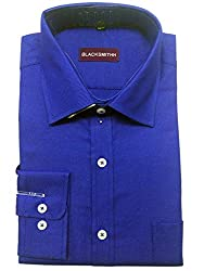 Blacksmith Men's Formal Shirt_1968096031BLSHIRTTWILL2_Prince Blue_38