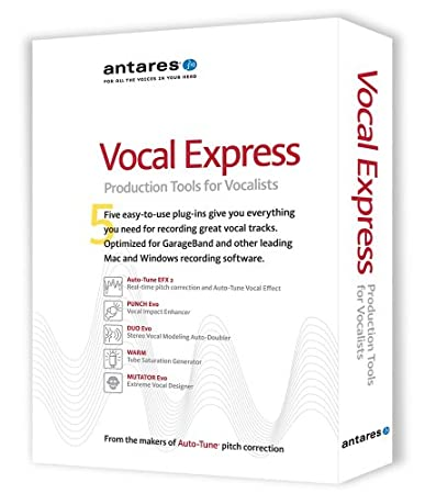 Antares Vocal Express - Retail Box