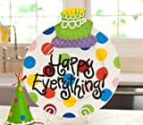 Happy Everything Platter with FREE Birthday Cake Attachment