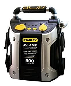 Stanley J45C09 450 Amp Jumper with Compressor from Stanley