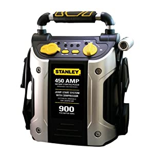 Stanley J45C09 450 Amp Jumper with Compressor Reviews