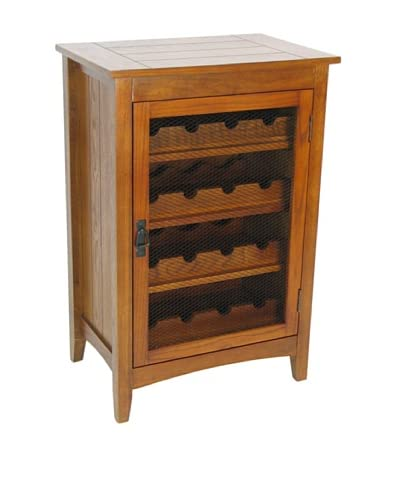Charleston Hugo Wine Cabinet, Oak