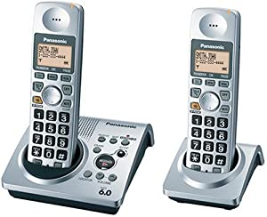 Panasonic DECT 6.0-Series Dual-Handset Cordless Phone System with Answering System (KX-TG1032S)