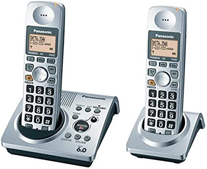Cordless Dual Phone Cordless Phone System With