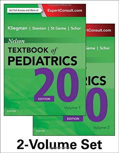 Nelson textbook of pediatrics 19e