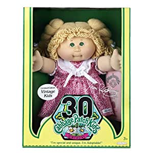 Cabbage Patch Kids Vintage Doll Limited Edition 30th