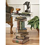 Design Toscano Stacked Volumes Sculptural End Table