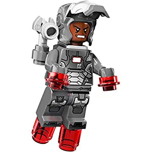 LEGO® SuperheroesTM - War Machine - Silver Iron Man - No ...