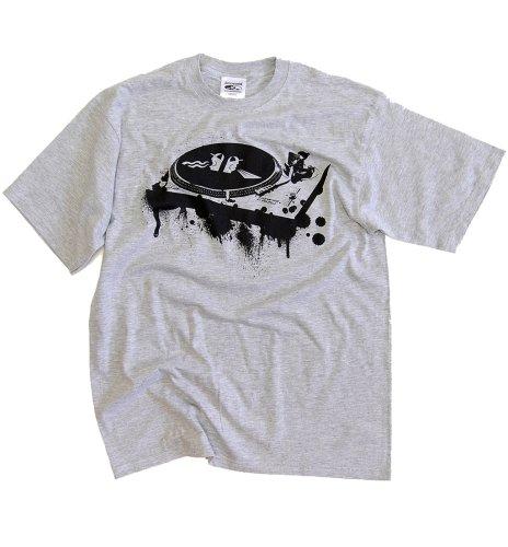 DMC Technics Decksy Mens T-Shirt College Grey D003Gxxl XX-Large