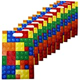 Building Blocks Treat Bags - 12 Pc