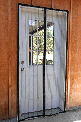 Walk Through Screen Door : Magnetic screen door with ultra seal magnets and perimeter