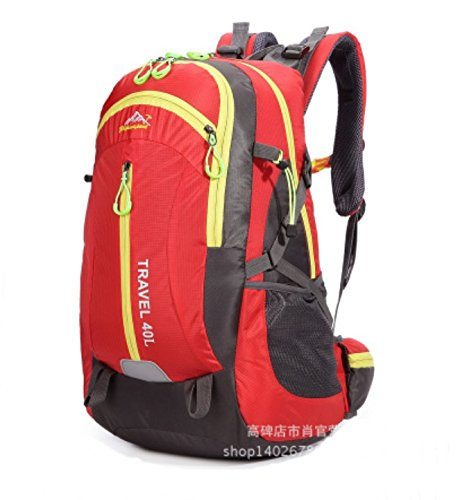 (51x30x22 cms) 40L, 14″ Red Color laptop, ipad, Backpack Nylon/Polyester Bag
