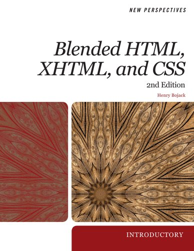 New Perspectives on Blended HTML, XHTML, and CSS: Introductory (New Perspectives (Course Technology Paperback))