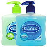 6 x 250ml Carex Original Antibacterial Handwash Pump Action Spray Bottles. PBS Medicare Best Price Carex antibacterial hand wash is gentle yet effective in preventing the spread of germs that can cause illness.