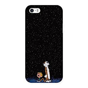 Enticing Counting Stars Multicolor Back Case Cover for iPhone 5 5S