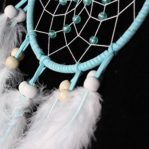 Dream Catcher,ONEONEY Handmade Dream Catcher Circular Net With feathers Wall Hanging Decoration Decor Ornament Craft Gift New