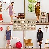 Ein Schnitt - vier Styles: Kleidung nähen mit Rosa P.