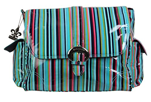 Kalencom Coated Buckle Bag, Dixie Stripes