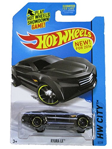 Hot Wheels - 2014 HW City 5/250 - HW City Works - Ryura LX (black)