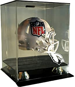 NFL Arizona Cardinals Floating Mini Helmet Display with Museum Quality UV Upgrade,... by Caseworks