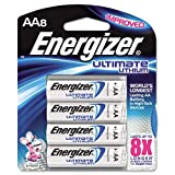 Energizer AA Lithium Batteries (8-count), Lasts 9 Times Longer