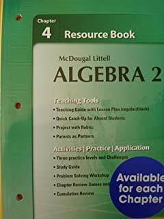 Worksheet Mcdougal Littell Algebra 2 Worksheet Answers mcdougal littell algebra 2 chapter 5 test answers glencoe resource book answer key waldenuedualgebra i
