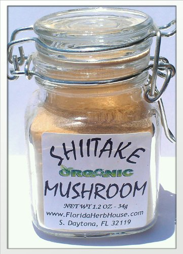 Shiitake Mushroom Powder .85 oz. (24g) - Great