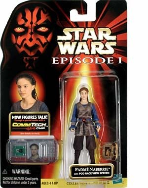 Star Wars, Episode I: The Phantom Menace, Padme Naberrie Action Figure, 3.75 Inches - 1