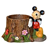 Woods International 4032 Mickey Mouse Stump Planter, 8.875-Inch by 8.625-Inch by 12.5-Inch