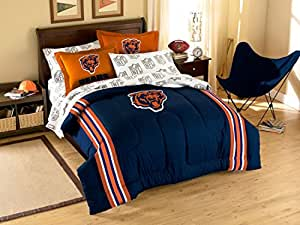 Amazon Com Nfl Chicago Bears Full Bed In A Bag 76 X 86