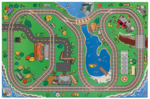 Fisher-Price Thomas the Train Wooden 2-in-1 Playboard