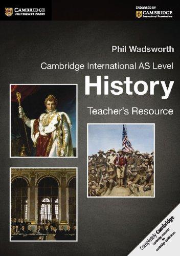 Cambridge International AS Level History Teacher's Resource CD-ROM (Cambridge International Examinations)
