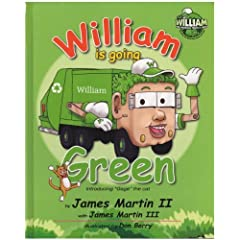 51ogSay5rTL. SL500 AA240  William the Garbage Truck & Crew: William is Going Green (Hardcover)