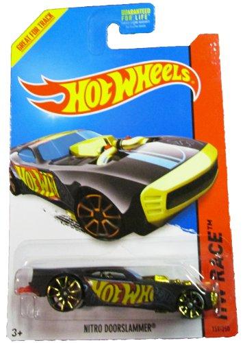 Hot Wheels - 2014 HW Race 159/250 - Thrill Racers - Nitro Doorslammer (black)