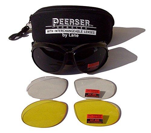 peerser-Motoparachute-anti-bue-gogglesinterchangeable-de-scurit-incassable-Objectif
