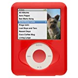 Pleiades Biscuits for iPod nano 3G/Ruby Red SE-BS-RD