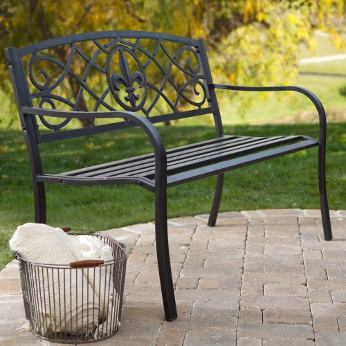 Coral Coast Royal 4-ft. Curved Back Garden Bench