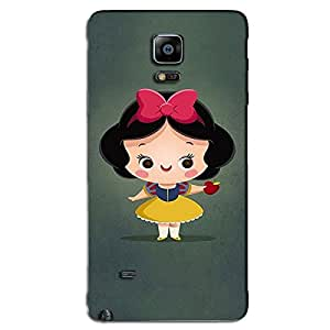 SAMSUNG GALAXY NOTE 4 CUTE LITTLE GIRL BACK COVER