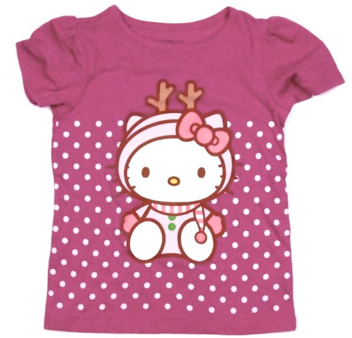 Hello Kitty® 'Reindeer' Costume Tee T-shirt Toddler Girls (3T)