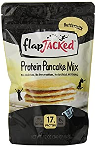 Flapjacked Protein Pancake Mix, Buttermilk, 12 Ounce